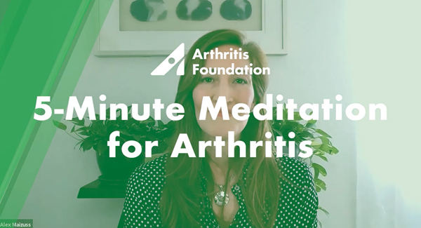 5 Minute Meditation for Arthritis