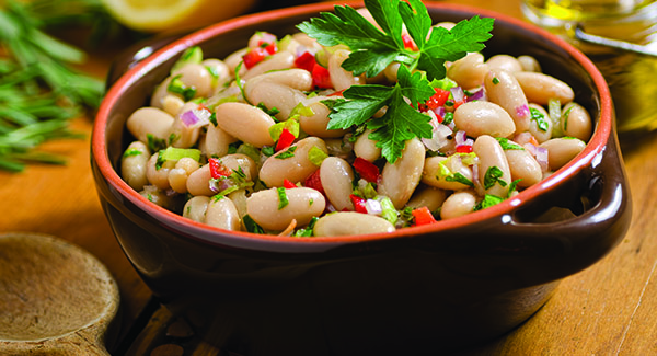 Cannellini Beans with Shallots and Sage