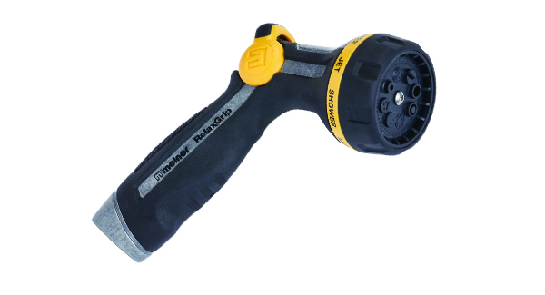 Multi-Pattern Thumb-Control Nozzle With RelaxGrip