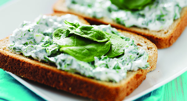 High-Protein Spinach Spread