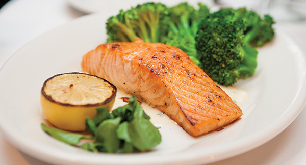 Roasted Soy-Ginger Salmon and Broccoli